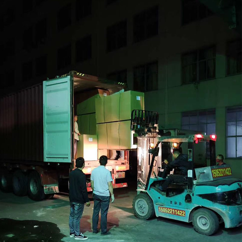 Thanks workers still on container loading during Holidays