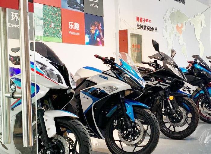 Big Racing Electric Motorcycle